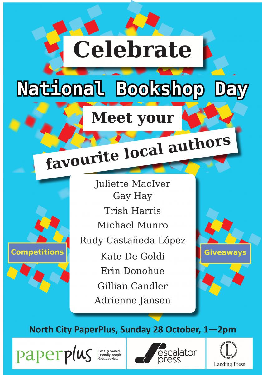 National Bookshop day poster